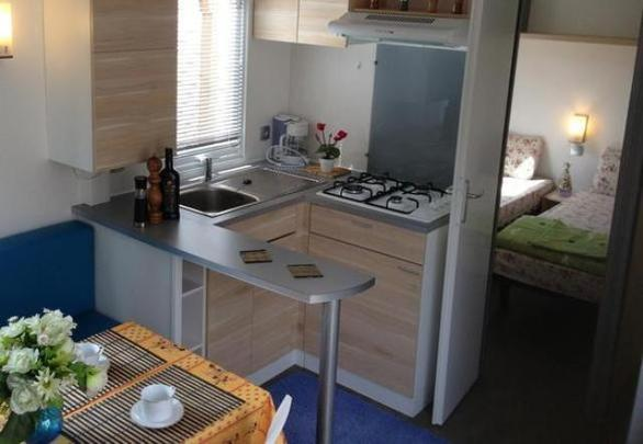 Marino Mobil Home prenájom , Port Grimaud, camping Les prairies de la mer,varenie, exotique 2