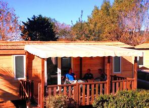 Mobilný dom drevo